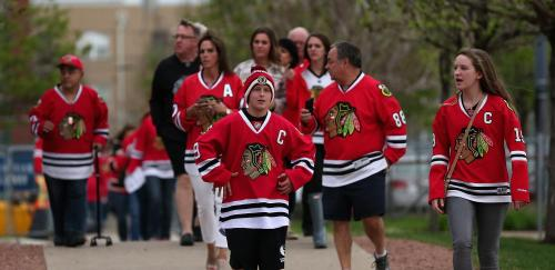 Baffoe: To A Blackhawks Fan Goes The Spoiling