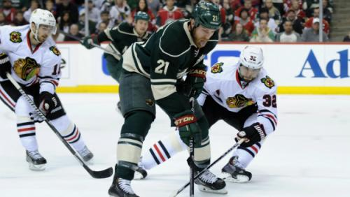Blackhawks' Michal Rozsival Suffers Apparent Ankle Injury