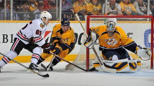 Blackhawks To Play Nashville Predators In First Round Of Stanley Cup Playoffs