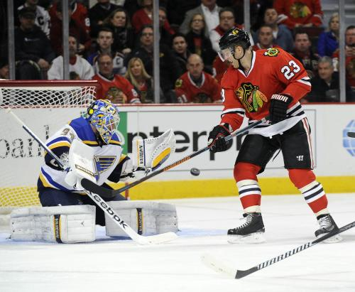 Blackhawks Use 3-goal 3rd To Beat Blues, 4-1