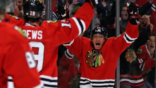 Emma: Marian Hossa's Hot Streak All About Confidence