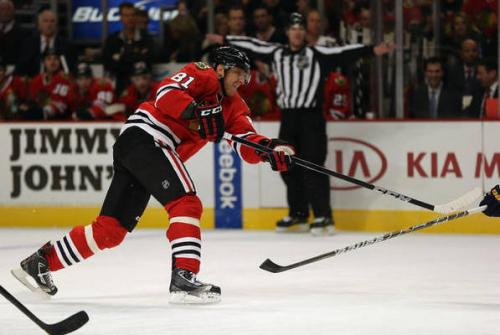 Happy Anniversary: Hossa Scores Winner vs. Nashville