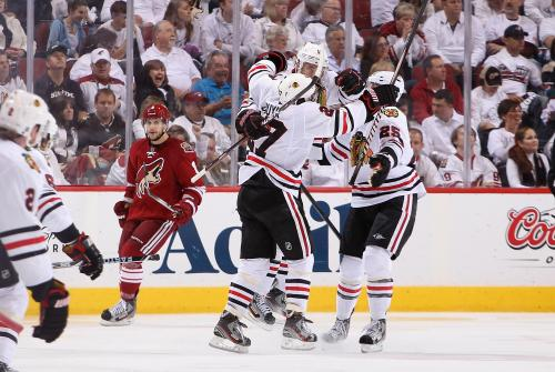 'Hawks Still Alive After Toews Scores OT Goal Against Coyotes