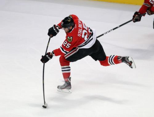 Hoge's Hawks Notes: Stalberg Denies Complaining About Playing Time