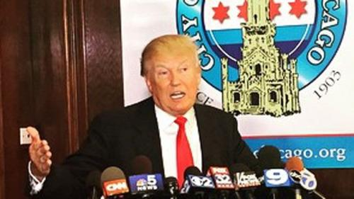 Not The Real Donald Trump Insults Famous Chicagoans