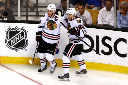 Watch: GoPro Video Shows Jonathan Toews, Patrick Kane Going Head-To-Head